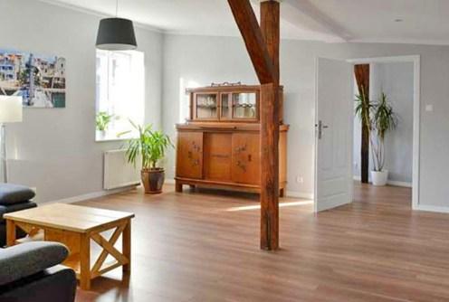na zdjęciu ekskluzywne wnętrze luksusowego apartamentu w Szczecinie do wynajęcia
