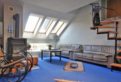 zdjęcie prezentuje luksusowe wnętrze w ekskluzywnym apartamencie do wynajmu w Kwidzynie