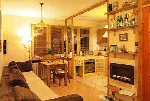 na zdjęciu wnętrze luksusowego apartamentu na sprzedaż w-Szczecinie