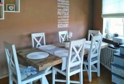 na zdjęciu nowoczesna jadalnia w apartamencie do wynajęcia w Szczecinie