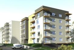 widok z zewnątrz na apartamentowiec w Częstochowie, w którym znajduje się oferowany na sprzedaży luksusowy apartament