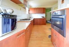 nowocześnie i komfortowo wyposażona kuchnia w apartamencie w Suwałkach na sprzedaż