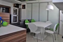widok na jadalnię w ekskluzywnym apartamencie do sprzedaży w Częstochowie
