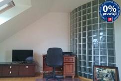 widok na gabinet do pracy znajdujący się w luksusowej willi do sprzedaży w okolicach Legnicy