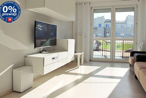 widok na salon w luksusowym apartamencie do sprzedaży w Olsztynie