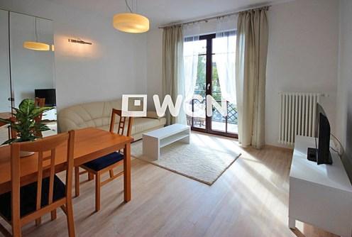 salon w luksusowym apartamencie do wynajęcia w Szczecinie
