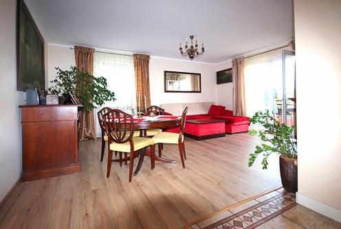 luksusowy salon w ekskluzywnym apartamencie do wynajęcia w Szczecinie