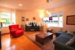 reprezentacyjny salon w luksusowym apartamencie w Szczecinie na sprzedaż