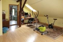 siłownia znajdująca się w luksusowej willi w okolicach Torunia na sprzedaż