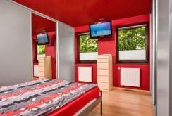 na zdjęciu ekskluzywna sypialnia w luksusowym apartamencie do sprzedaży w Katowicach