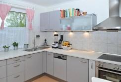 nowoczesna i komfortowa kuchnia w luksusowym apartamencie w Szczecinie na sprzedaż