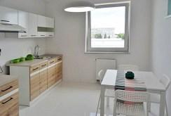 nowoczesna, komfortowa kuchnia w luksusowym apartamencie w okolicach Wrocławia na wynajem