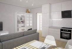 nowoczesne wnętrze luksusowego apartamentu w Białymstoku na sprzedaż