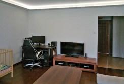 ekskluzywny salon ze sprzętem RTV w luksusowym apartamencie w Białymstoku na sprzedaż