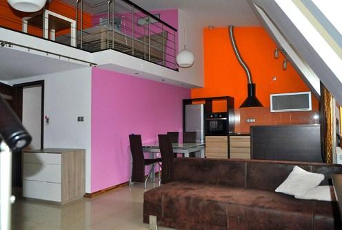 nowoczesne wnętrze ekskluzywnego apartamentu do wynajęcia w Częstochowie