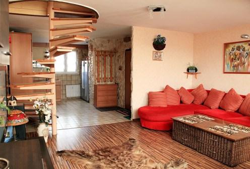 fragment luksusowego wnętrza w ekskluzywnym apartamencie do sprzedaży w Szczecinie
