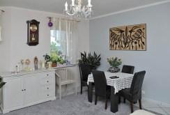 widok na jadalnię w luksusowym apartamencie do sprzedaży w Szczecinie