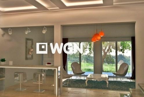nowoczesne wnętrze luksusowej willi do sprzedaży w Bolesławcu