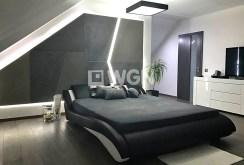 elegancka sypialnia w ekskluzywnej willi do sprzedaży w Olkuszu