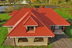 rzut z lotu ptaka na luksusową willę do sprzedaży w Tarnowie