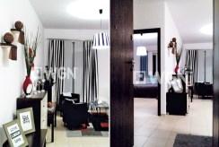 fragment salonu i przedpokój w luksusowym apartamencie do wynajmu w Katowicach