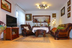 widok na luksusowe wnętrza ekskluzywnej willi do sprzedaży w Kwidzynie