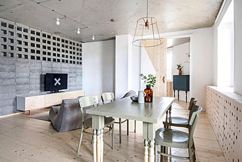 nowoczesne wnętrze luksusowego apartamentu do sprzedaży w Kwidzynie
