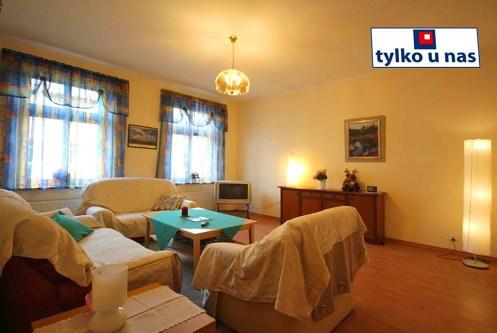 luksusowy salon w ekskluzywnym apartamencie do sprzedaży w Szczecinie