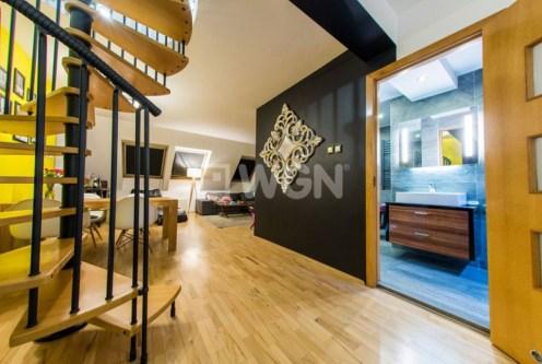 ekskluzywne wnętrze luksusowego apartamentu do sprzedaży w okolicach Katowic