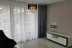 fragment salonu w luksusowym apartamencie do wynajmu w Szczecinie