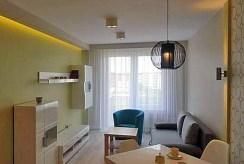 na zdjęciu luksusowy salon w ekskluzywnym apartamencie do wynajmu w Szczecinie