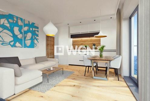 nowoczesne wnetrze ekskluzywnego apartamentu do sprzedaży nad morzem