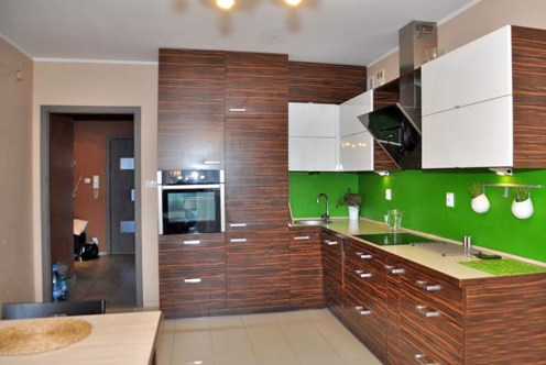 nowoczesna kuchnia w ekskluzywnym apartamencie do sprzedaży w okolicach Wrocławia