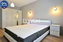 prywatna, elegancka sypialnia w luksusowym apartamencie w Katowicach na wynajem