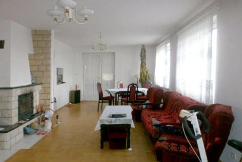 ekskluzywny salon w luksusowej willi do sprzedaży w Częstochowie