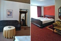 na zdjęciu elegancka sypialnia w luksusowej willi w Lądku-Zdroju na sprzedaż