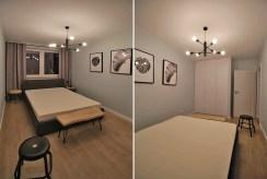 prywatna, zaciszna sypialnia w luksusowym apartamencie w Krakowie na wynajem