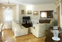 luksusowy salon w ekskluzywnej willi do sprzedaży w okolicach Częstochowy