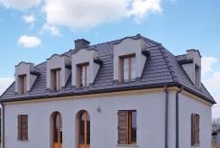 front luksusowej willi w okolicach Krakowa na sprzedaż