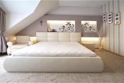 prywatna, elegancka sypialnia w luksusowej willi w okolicach Krakowa na sprzedaż
