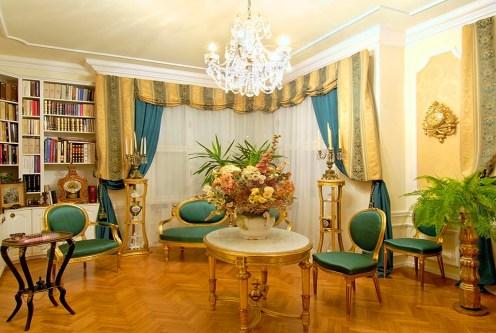 elegancki salon w ekskluzywnym apartamencie do sprzedaży w Rzeszowie