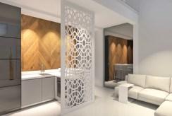 nowoczesny design na wizualizacji luksusowego apartamentu w Szczecinie na sprzedaż