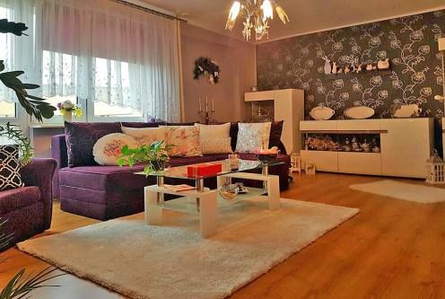 komfortowy salon w ekskluzywnym apartamencie do sprzedaży w Tczewie