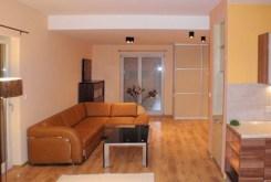 widok na prestiżowy salon w luksusowym apartamencie do wynajmu w Katowicach