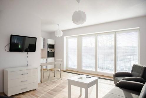 nowoczesne wnętrze ekskluzywnego apartamentu do wynajęcia we Wrocławiu