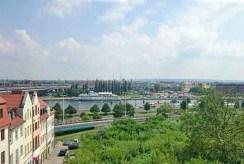widok z okna luksusowego apartamentu w Szczecinie do wynajmu na okolicę