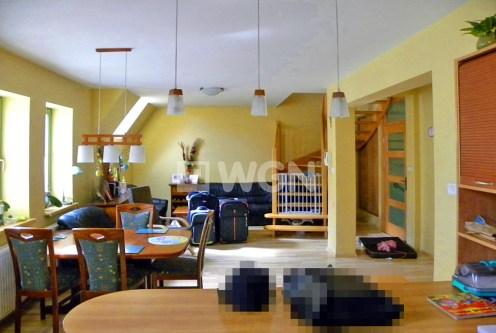 wnętrze salonu w luksusowym apartamencie do wynajęcia w Szczecinie