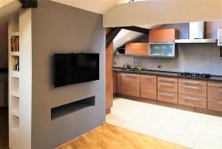 widok na luksusowe wnętrze ekskluzywnego apartamentu do wynajmu w Krakowie