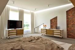 jeden z komfortowych pokoi w luksusowym apartamencie do sprzedaży Kraków