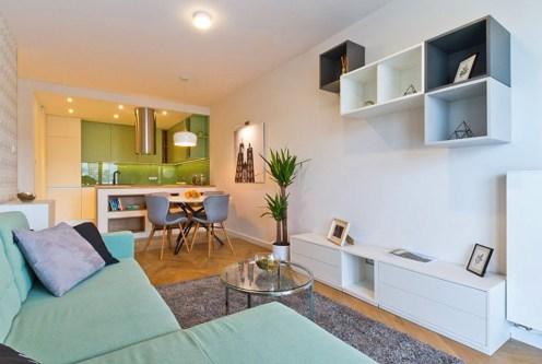 przestronne i nowoczesne wnętrze ekskluzywnego apartamentu doi sprzedaży Kraków